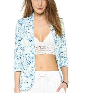 Lovers + friends floral blazer